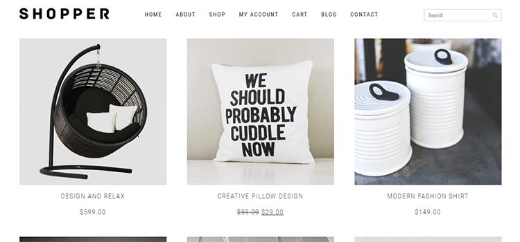 WooCommerce Theme Shopper