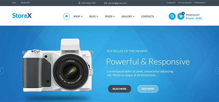 WooCommerce Theme StoreX