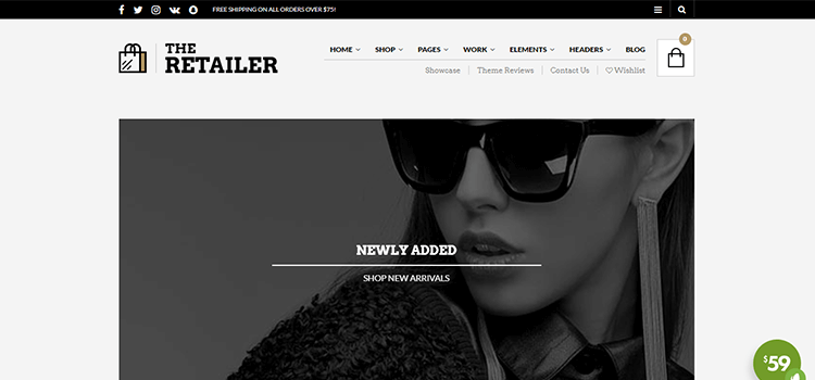 WooCommerce Theme The Retailer