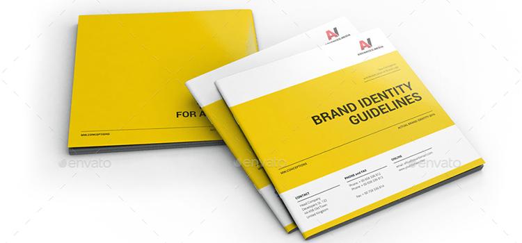 Branding identity guideline template