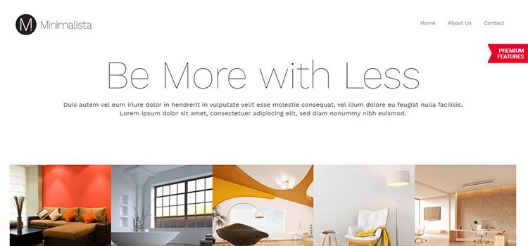Minimalista – Business Website Template