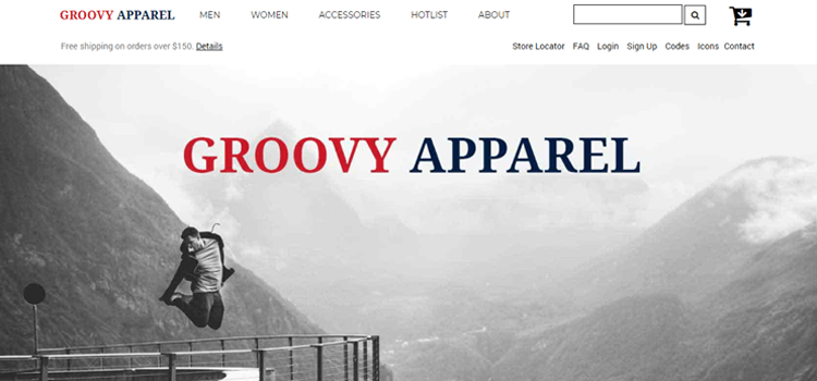 Groovy Apparel Fashion Template