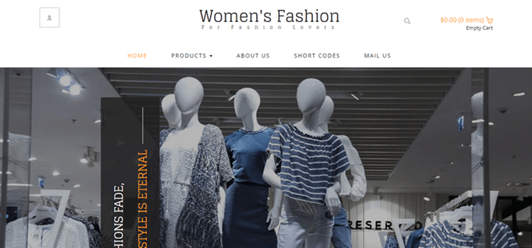 Women's Fashion Fashion Template